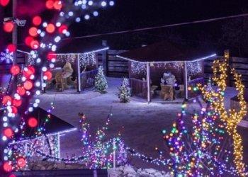Božićno selo u dalmatinskoj zagori1