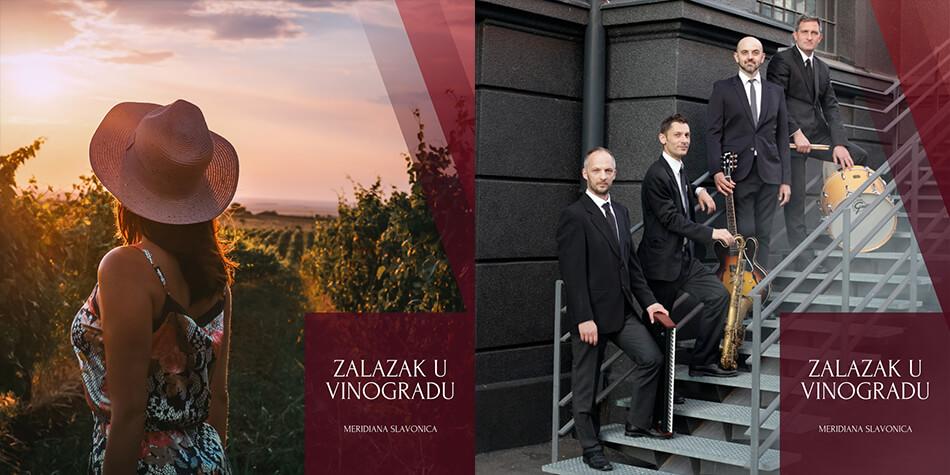 Prvi hrvatski zalazak u vinogradu